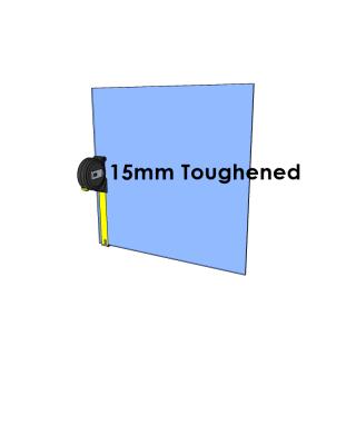 15mm Toughened Glass - Cut to Size