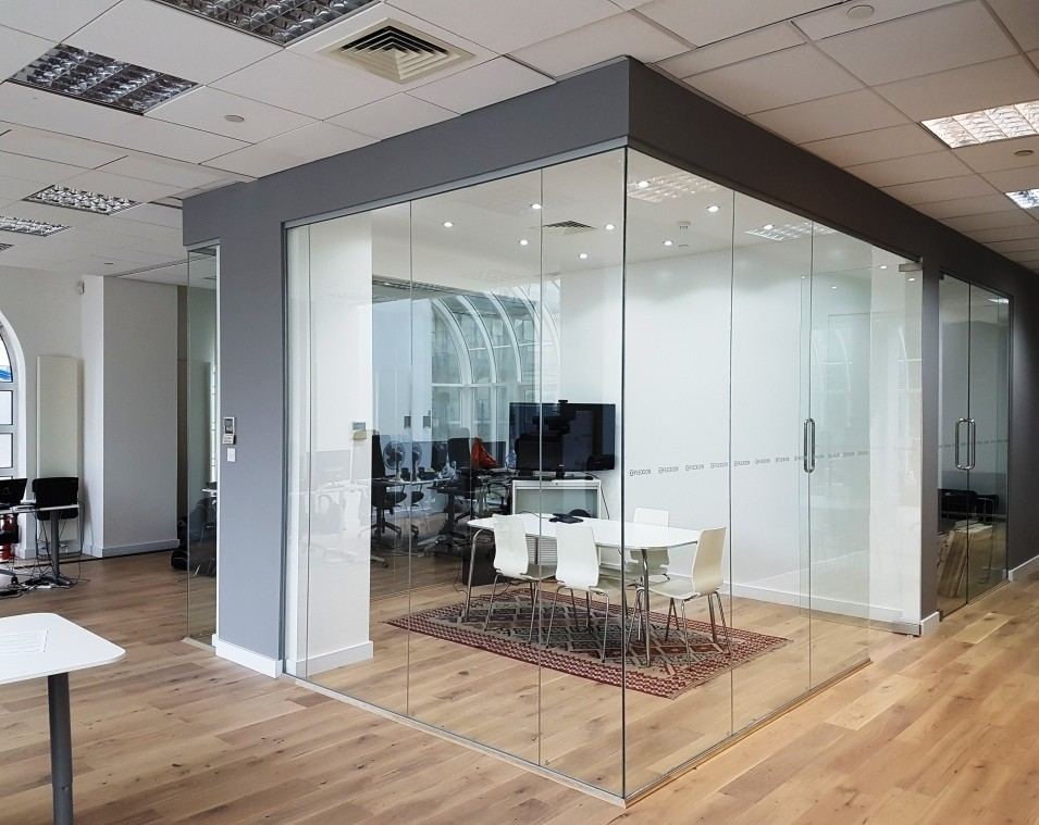 Glass Partitions in London