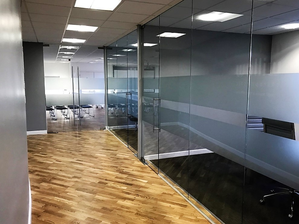 Glass Partitions in Bristol