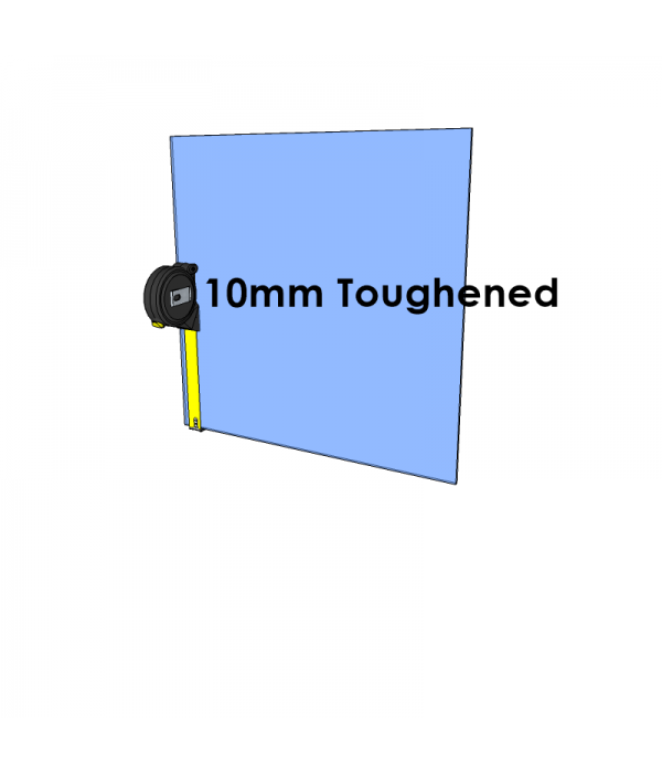 10mm Toughened Glass - Cut to Size