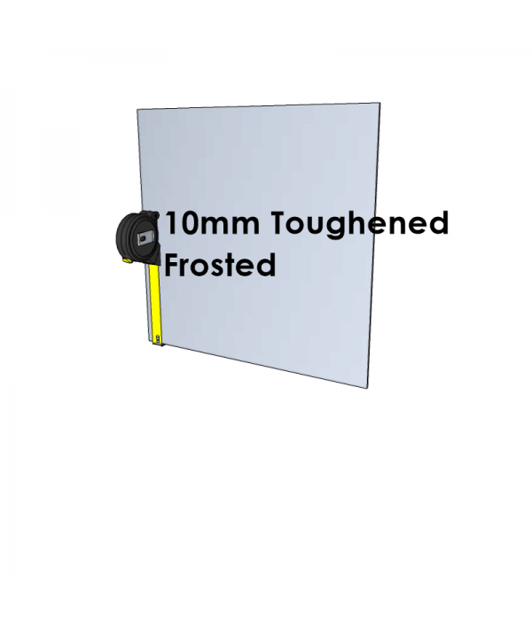 10mm Toughened Glass - Frosted - Cut to Size