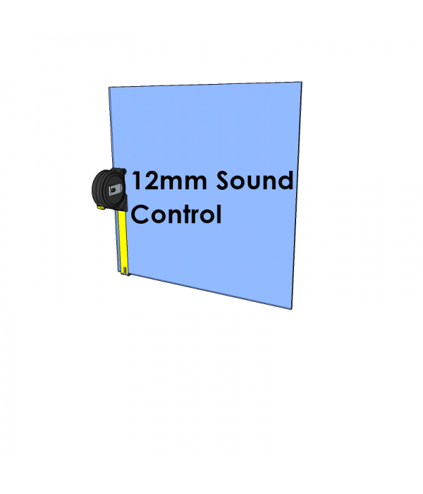 12mm Acoustic Glass - Cut to Size