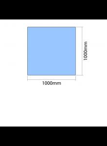 1000mm x 1000mm  x 10mm Toughened Glass Balustrade Panel