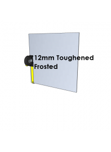 12mm Toughened Glass - Frosted - Cut to Size