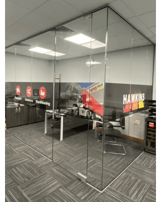 Glass Partitions Fitted in West Midlands