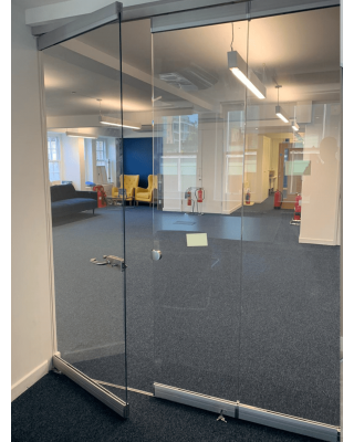 Glass Partitions in Norfolk - Glass Partition Fitting Site Visit
