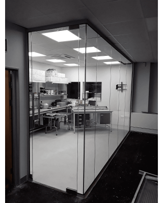 Glass Partitions Fitted in Merseyside