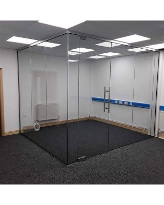 Glass Partitions Norfolk- Installation Site Visit