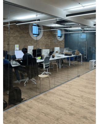 Glass Partitions Fitted in West Sussex