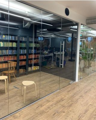 Glass Partitions Wiltshire- Installation Site Visit