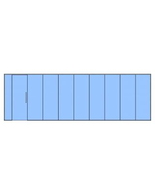 Glass Partition Kit