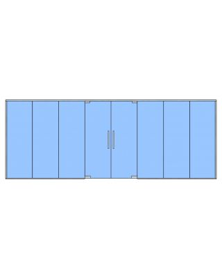 Glass Partition Kit