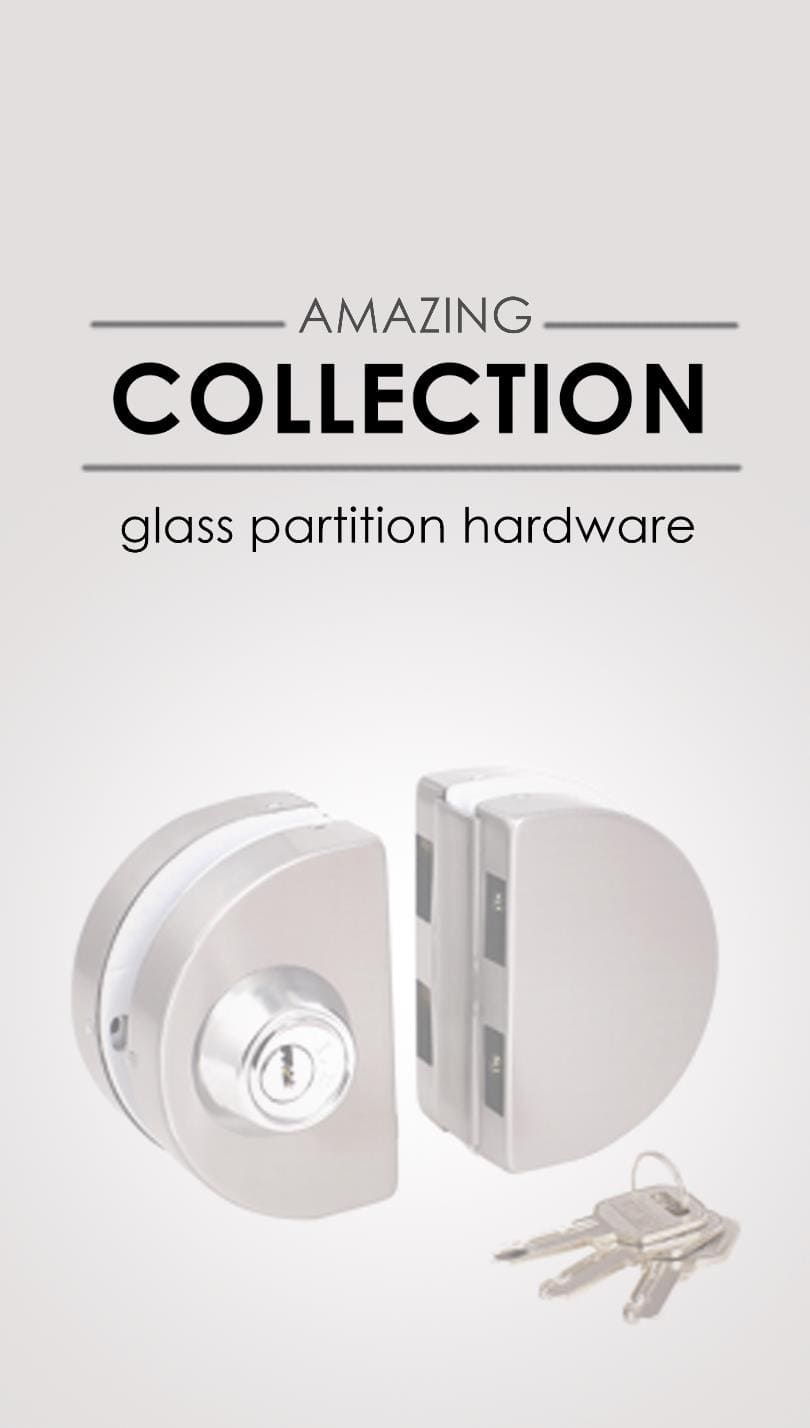 Glass Partition Hardware