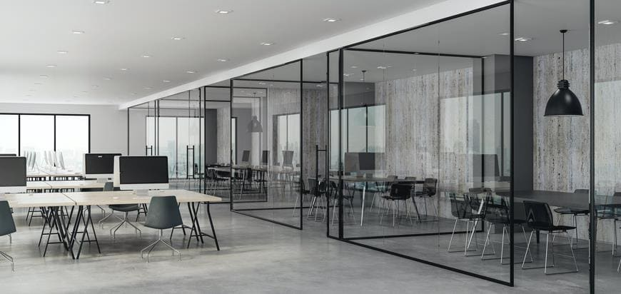 Glass Partition Tracks