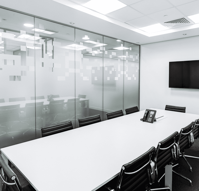 Glass Meeting Room