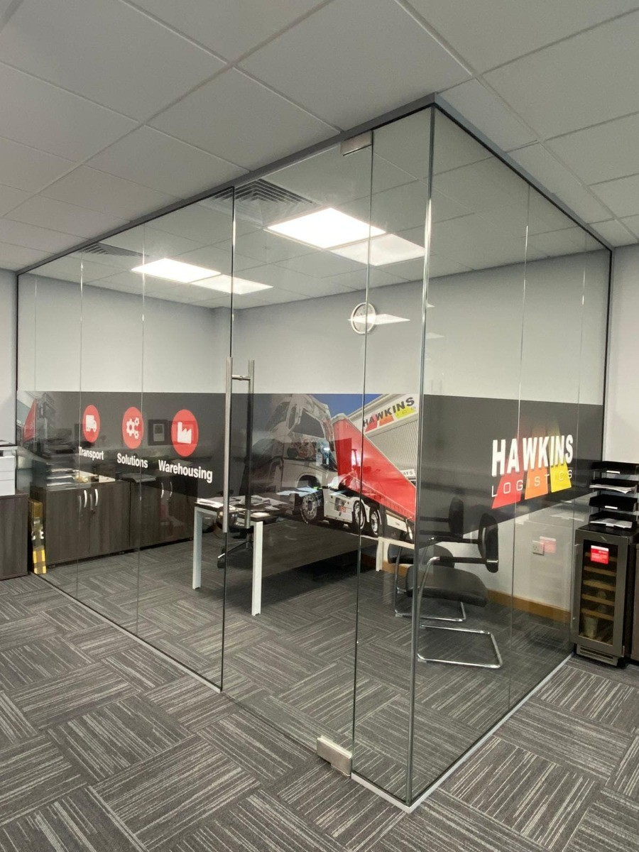 Glass Partitions in Rugeley