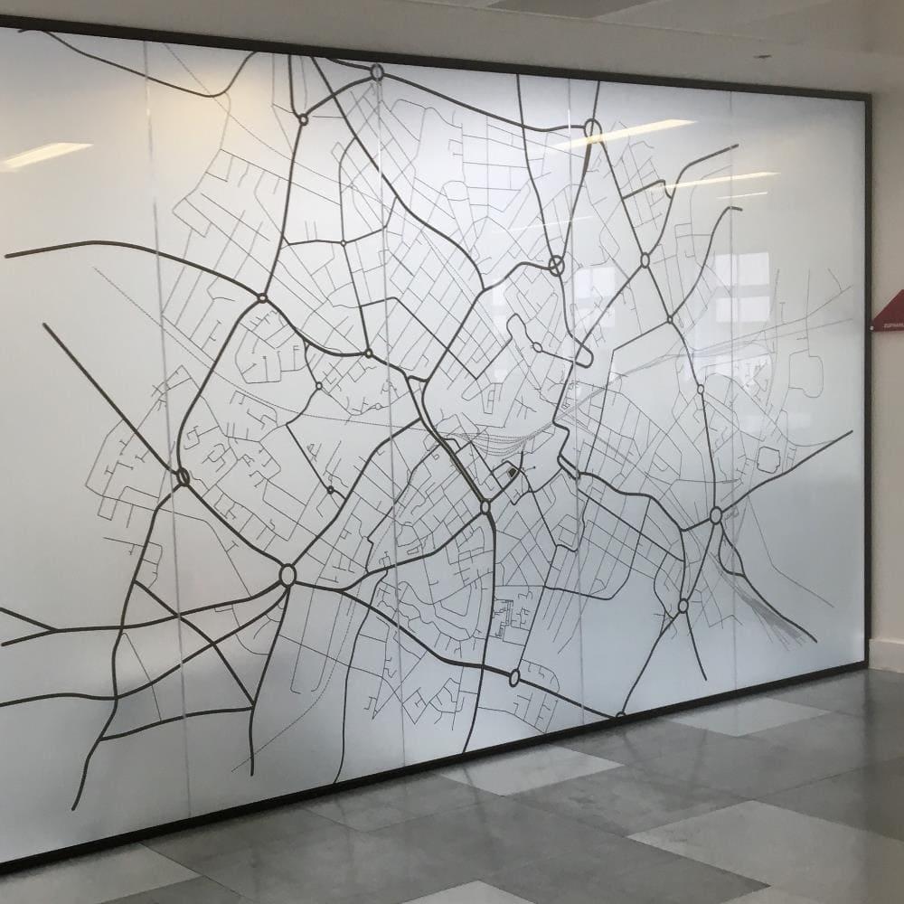 London Glass Partition