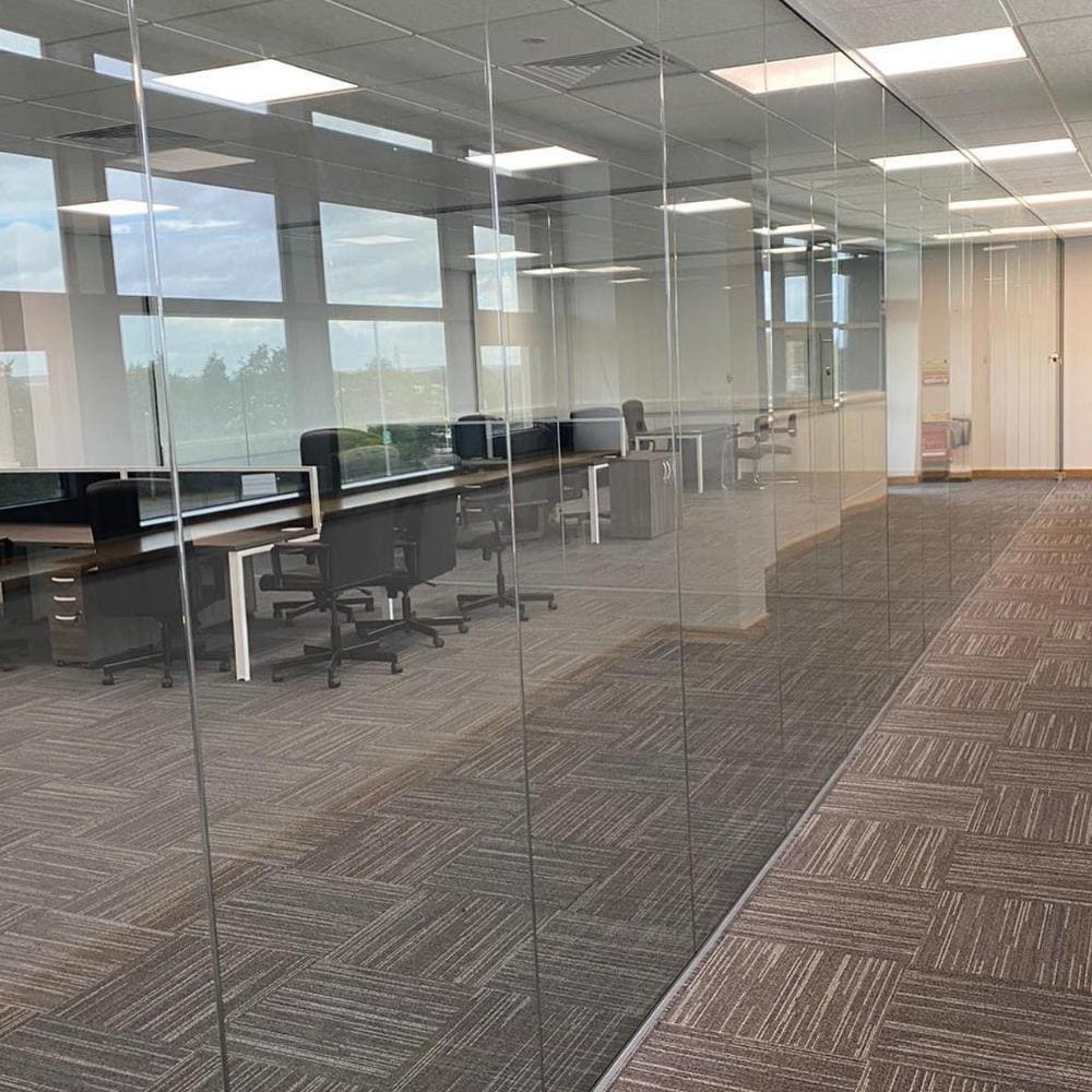 Glass Partitioning for Office