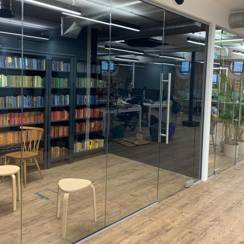 Glass Partition in London