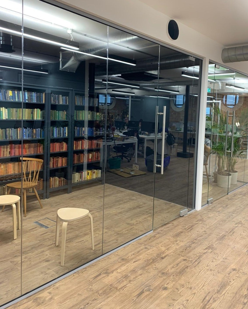 Glass Partitions Fitted